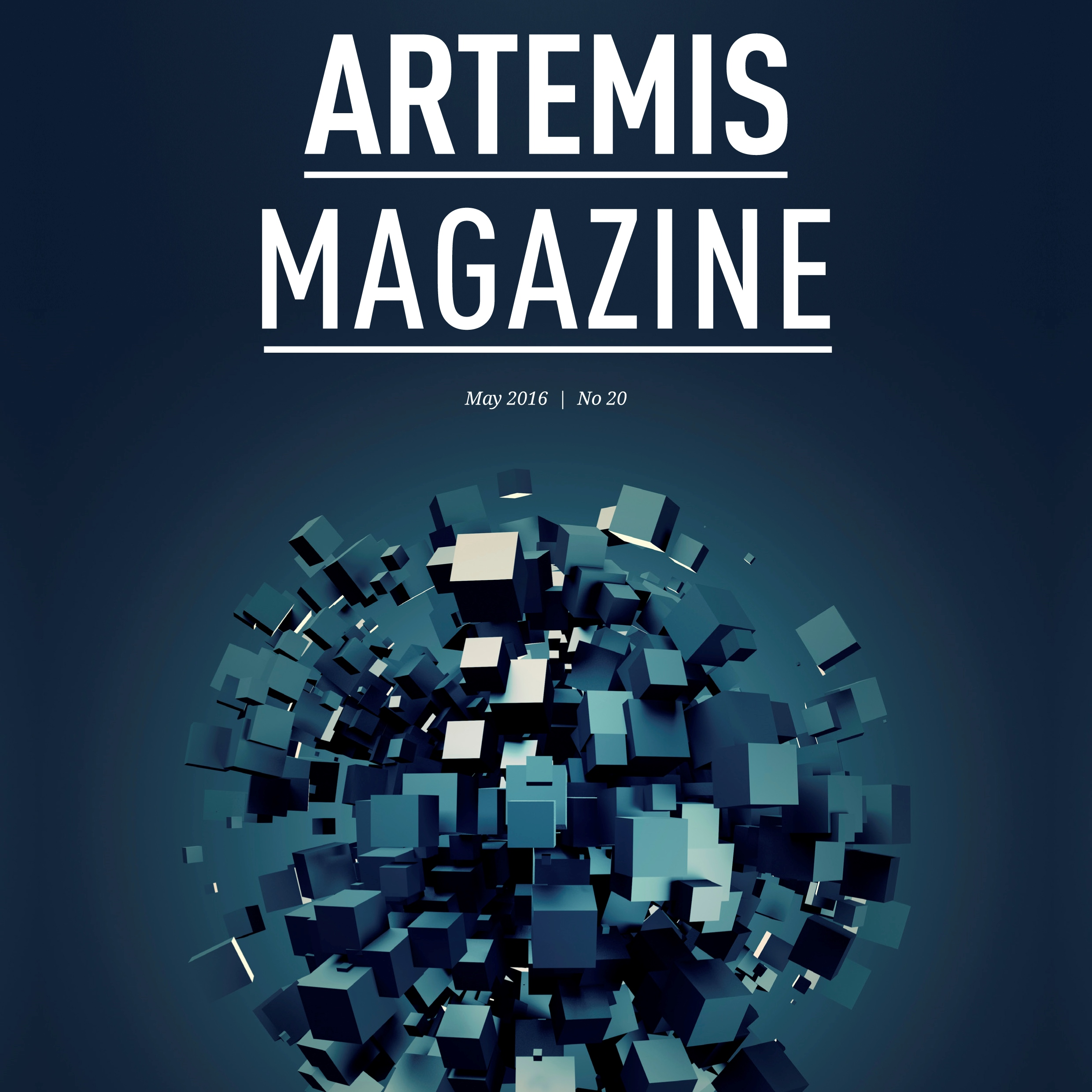 Cover ARTEMIS Magazine 20 May 2016